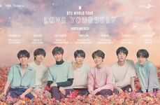 BTS Love Yourself Tour North America