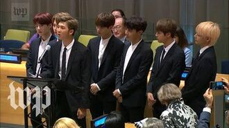 The full speech that RM of BTS gave at the United Nations