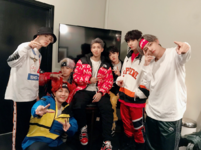 BTS at Jimmy Kimmel Live Official Twitter Nov 30, 2017 (1)