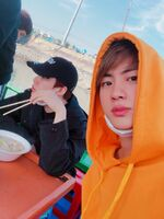 Suga and Jin Twitter March 9, 2019
