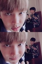 Rap Monster and J-Hope Twitter May 31, 2017