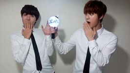 J-Hope and Jin Twitter March 10, 2015