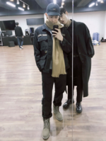 Rap Monster and Jungkook Twitter November 12, 2017 (2)