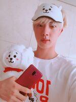 Jin Twitter August 4, 2018 (2)