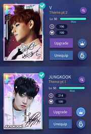 SuperStar BTS Badge and Prism Card Max