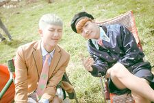 RM and J-Hope Young Forever Shoot