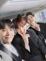 J-Hope, Suga and RM Twitter Nov 29, 2018