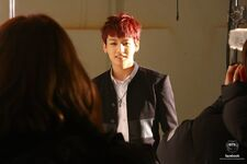 Boy In Luv MV Shooting 22