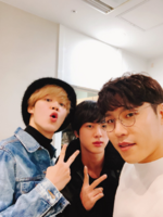 Jimin, Jin and Hyeon Twitter Feb 27, 2018 (2)