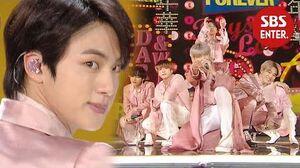 ☆월드 스타☆ 방탄소년단, 심장 터치 무대-작은 것들을 위한 시 (Boy With Luv) @ 2019 SBS 가요대전