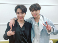 J-hope and Jungkook Official Twitter Dec 28, 2018
