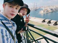 Jimin and Jungkook Twitter Oct 14, 2018 (3)