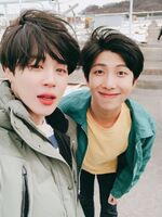 Jimin and RM Twitter Apr 9, 2018 (1)