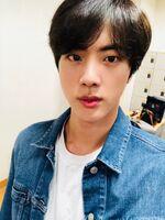 Jin Twitter Dec 22, 2018