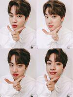 Jin Twitter March 20, 2017