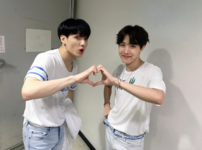 J-Hope and Jungkook Official Twitter April 28, 2019
