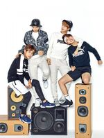 Jin, J-Hope, RM and V Puma Blaze Time (1)