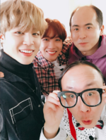 Jimin and J-Hope Twitter Feb 19, 2018