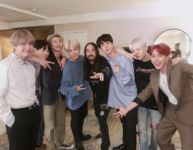 BTS and Steve Aoki Twitter Nov 20, 2017