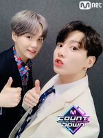 Jungkook and Suga Twitter April 25, 2019