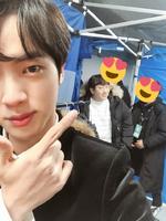Jin Twitter Jan 25, 2018