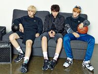 Suga, Jimin and Jungkook Puma Blaze Time