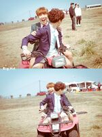 J-Hope and Jungkook Young Forever Shoot (1)