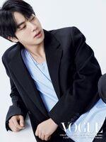 Jin Vogue Japan Magazine August 2020