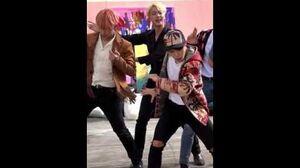 BANGTAN BOMB 'FIRE' MV Shooting- 'Jin' Follow ver