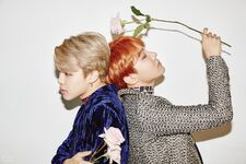 Jimin and J-Hope GQ Korea Magazine Dec 2016