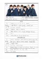 BTS Festa 2014 BTS Profile