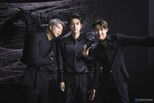 RM, Jin and J-Hope Map of the Soul 7 Shoot (1)