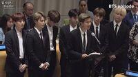 EPISODE BTS (방탄소년단) UN General Assembly Behind