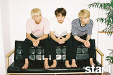 Rap Monster, Jungkook and Suga star1 Magazine Aug 2016