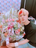 Jin Twitter Aug 25, 2018