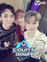Jin and Jimin Mnet Countdown Oct 20, 2016 (2)