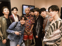 BTS and Pharrell Twitter May 20, 2018