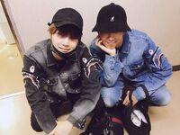 Suga and Rap Monster Twitter Jun 15, 2017