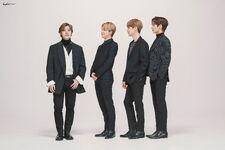 Lee Hyun, Jimin, Suga and Taehyun Big Hit Entertainment 15th Anniversary Shoot