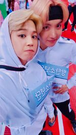 Jimin and J-Hope Twitter Jan 16, 2017