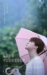 Jimin Love Yourself Teaser Poster