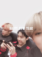 Jimin, j-hope and V Twitter Jan 1, 2019
