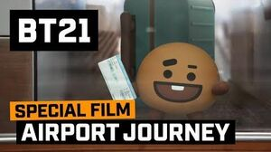 BT21 BT21's Airport Journey - SHOOKY