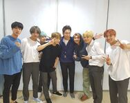 BTS with Jang Sung-kyu Instagram Sep 17, 2017