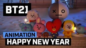 BT21 Good bye 2017
