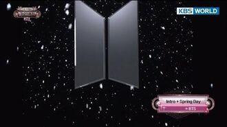 BTS - Spring day 방탄소년단 - 봄날 2017 KBS Song Festival 2017 KBS가요대축제 2017.12
