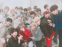 BTS with Golden Child Twitter Sep 22, 2017