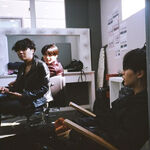 J-Hope, Jungkook, Suga BTS Exhibition