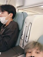 J-Hope and Jimin Twitter Nov 10, 2018