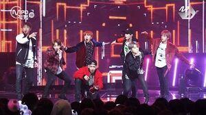 MPD직캠 4K 방탄소년단 직캠 21세기 소녀 BTS 21st Century Girls Fancam @엠카운트다운 161013